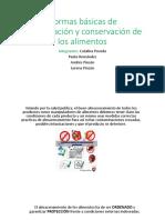 Normas de Conservacion y Almacenamiento