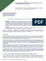 Crimes Tributários No Brasil - Reflexões Sobre o Difícil Equilíbrio Entre a Lógica