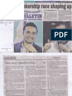 Manila Bulletin, June 27, 2019, Two-way speakership race shaping up.pdf