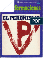 Transformaciones 32. El Peronismo