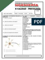 Psicología- 1ro Secundaria