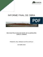 Informe Final Muro Cerco Unimar