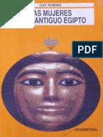 Robins Gay - Las Mujeres en El Antiguo Egipto