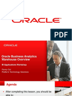 P11 - Oracle Business Analytics Warehouse Overview