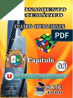Tema 08 - Cuatro Operaciones