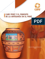 Care Perú y el fomento de la artesanía en el Perú
