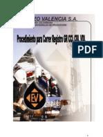 Procedimiento Para Correr Un Registro Gr Ccl Cbl Vdl