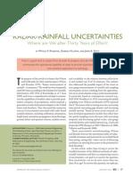 Radar Rainfall Uncertainties
