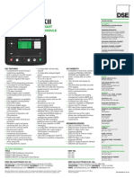 Dse8610 Mkii Data Sheet (Us)