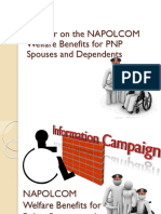 NAPOLCOM Welfare Benefits for Uniformed Members of The