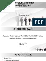 Penyusunan Dokumen Akreditasi Kalk (Sudah)