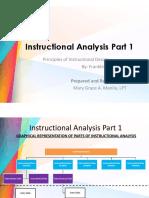 Instructional Analysis