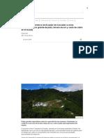 El Impacto Económico en Ecuador