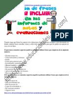 Colección de Frases Para Incluir en Los Informes de Notas o Evaluación Por Categorías (1)