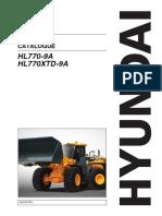 Hyundai HL770-9a Spare Parts Manual