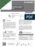 Ficha de Proyecto 249 PNICP ITAI 2015