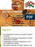 Export of Spices to Uk - IB Final (1)