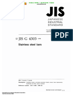 JIS G 4303 - 1998 (in English) Stainless Stell Bars