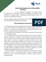Dieta Pancreatitis Cronica 1