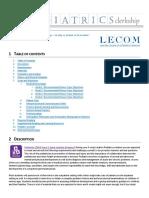 Pediatrics Slo Clinical Instructors Precepting Handbook 1516