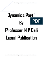 Dynamics Part 1 upto Motion under Variable Acceleration for IIT JEE Physics Olympiad Engineering Entrance Exams College University by N P Bali Laxmi Publication ( PDFDrive.com ).pdf