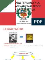 El Estado Peruano y La Realidad Nacional Desde