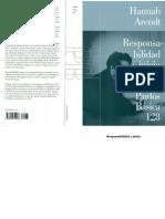 Arendt Hannah - Responsabilidad & Juicio (Paidos Ed.) (DS).pdf