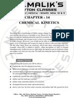 14. Chemical Kinetics