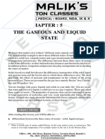 5. the Gaseous and Liquid State
