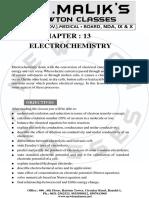 13. Electrochemistry