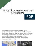 Hitos Historia Carreteras