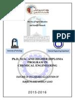 Education Plan Graduate 2015-2016