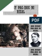 Buhay Pag-ibig Ni Rizal