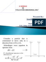 Particle in One Dimensional Box Reviewed 2 Final
