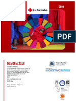Memoria Cruz Roja Española Leon 2018