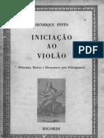 Henrique Pinto - Iniciação ao Violão - Vol I