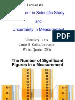 Measurement & Uncertainty
