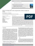 Behavior of Bridge Girders With Corrugated Webs (II) Shear Strength Anddesign