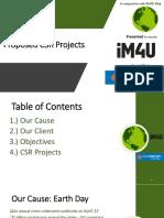Proposed CSR Projects Bank Rakyat