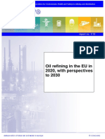 CONCAWE Report on Oil Refining Perspectives in EU 2030