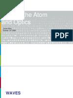 Waves Atom Optics