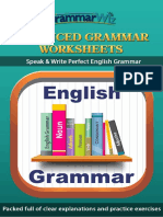 Grammar Wiz Advanced Grammar Worksheets