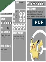 PokemonFATE Pikachu