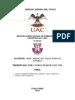 Monografia definiciones para sepsis y shock séptico - shock hipovolemico.docx