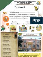 Diplomă - Gradinita model