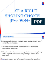 Make a Right Shoring Choice(Free Webinar)