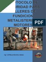 Protocolo de Seguridad en Talleres de Fundicion Metalisteria y Motores.