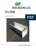 Palmer-Bowlus Flume Users Manual