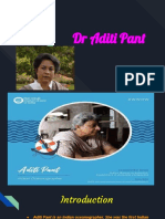 Dr Aditi Pant