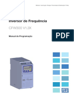 WEG Manual de Programacao CFW300 10003424521 Pt